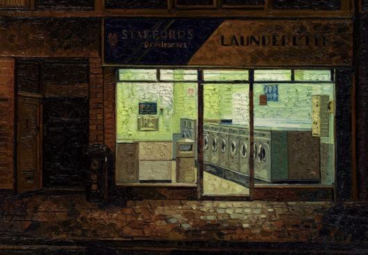 Launderette With An Open Door,